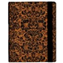 DAMASK2 BLACK MARBLE & RUSTED METAL Samsung Galaxy Tab 10.1  P7500 Flip Case View3