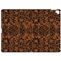 DAMASK2 BLACK MARBLE & RUSTED METAL Apple iPad Pro 12.9   Hardshell Case View1