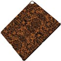 DAMASK2 BLACK MARBLE & RUSTED METAL Apple iPad Pro 12.9   Hardshell Case View5