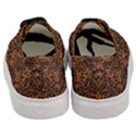 DAMASK2 BLACK MARBLE & RUSTED METAL Women s Classic Low Top Sneakers View4