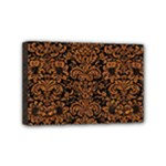 DAMASK2 BLACK MARBLE & RUSTED METAL (R) Mini Canvas 6  x 4