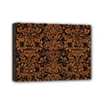 DAMASK2 BLACK MARBLE & RUSTED METAL (R) Mini Canvas 7  x 5