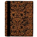 DAMASK2 BLACK MARBLE & RUSTED METAL (R) Apple iPad Mini Flip Case View3
