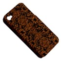 DAMASK2 BLACK MARBLE & RUSTED METAL (R) Apple iPhone 4/4S Hardshell Case (PC+Silicone) View5