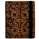 DAMASK2 BLACK MARBLE & RUSTED METAL (R) Samsung Galaxy Tab 7  P1000 Flip Case View2