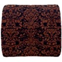 DAMASK2 BLACK MARBLE & RUSTED METAL (R) Back Support Cushion View1