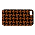 HOUNDSTOOTH1 BLACK MARBLE & RUSTED METAL Apple iPhone 4/4S Hardshell Case View1