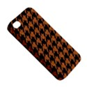 HOUNDSTOOTH1 BLACK MARBLE & RUSTED METAL Apple iPhone 4/4S Premium Hardshell Case View5