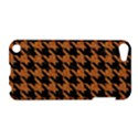 HOUNDSTOOTH1 BLACK MARBLE & RUSTED METAL Apple iPod Touch 5 Hardshell Case View1
