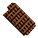 HOUNDSTOOTH1 BLACK MARBLE & RUSTED METAL Apple iPhone 5 Hardshell Case (PC+Silicone) View5