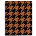HOUNDSTOOTH1 BLACK MARBLE & RUSTED METAL Apple iPad 2 Flip Case View1