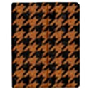 HOUNDSTOOTH1 BLACK MARBLE & RUSTED METAL Apple iPad Mini Flip Case View1