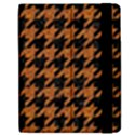 HOUNDSTOOTH1 BLACK MARBLE & RUSTED METAL Apple iPad Mini Flip Case View2