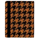 HOUNDSTOOTH1 BLACK MARBLE & RUSTED METAL Apple iPad Mini Flip Case View3