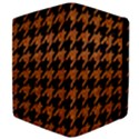 HOUNDSTOOTH1 BLACK MARBLE & RUSTED METAL Apple iPad Mini Flip Case View4