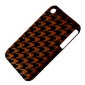 HOUNDSTOOTH1 BLACK MARBLE & RUSTED METAL iPhone 3S/3GS View4