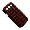 HOUNDSTOOTH1 BLACK MARBLE & RUSTED METAL Samsung Galaxy S III Classic Hardshell Case (PC+Silicone) View5