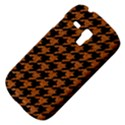 HOUNDSTOOTH1 BLACK MARBLE & RUSTED METAL Galaxy S3 Mini View4
