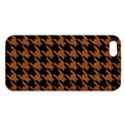HOUNDSTOOTH1 BLACK MARBLE & RUSTED METAL Apple iPhone 5 Premium Hardshell Case View1