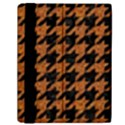 HOUNDSTOOTH1 BLACK MARBLE & RUSTED METAL Samsung Galaxy Tab 10.1  P7500 Flip Case View2
