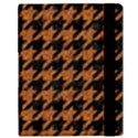 HOUNDSTOOTH1 BLACK MARBLE & RUSTED METAL Samsung Galaxy Tab 10.1  P7500 Flip Case View3