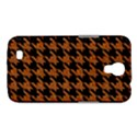 HOUNDSTOOTH1 BLACK MARBLE & RUSTED METAL Samsung Galaxy Mega 6.3  I9200 Hardshell Case View1