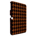 HOUNDSTOOTH1 BLACK MARBLE & RUSTED METAL Samsung Galaxy Tab 3 (10.1 ) P5200 Hardshell Case  View2