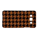 HOUNDSTOOTH1 BLACK MARBLE & RUSTED METAL Samsung Galaxy A5 Hardshell Case  View1