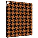HOUNDSTOOTH1 BLACK MARBLE & RUSTED METAL Apple iPad Pro 12.9   Hardshell Case View2