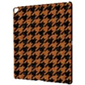 HOUNDSTOOTH1 BLACK MARBLE & RUSTED METAL Apple iPad Pro 12.9   Hardshell Case View3