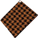 HOUNDSTOOTH1 BLACK MARBLE & RUSTED METAL Apple iPad Pro 12.9   Hardshell Case View5