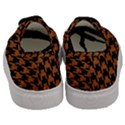 HOUNDSTOOTH1 BLACK MARBLE & RUSTED METAL Men s Classic Low Top Sneakers View4