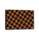 HOUNDSTOOTH2 BLACK MARBLE & RUSTED METAL Mini Canvas 6  x 4  View1