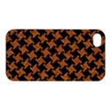 HOUNDSTOOTH2 BLACK MARBLE & RUSTED METAL Apple iPhone 4/4S Premium Hardshell Case View1