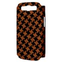 HOUNDSTOOTH2 BLACK MARBLE & RUSTED METAL Samsung Galaxy S III Hardshell Case (PC+Silicone) View3
