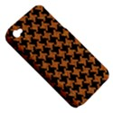 HOUNDSTOOTH2 BLACK MARBLE & RUSTED METAL Apple iPhone 4/4S Hardshell Case (PC+Silicone) View5