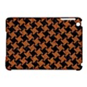 HOUNDSTOOTH2 BLACK MARBLE & RUSTED METAL Apple iPad Mini Hardshell Case (Compatible with Smart Cover) View1
