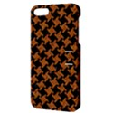 HOUNDSTOOTH2 BLACK MARBLE & RUSTED METAL Apple iPhone 5 Hardshell Case with Stand View3