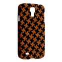 HOUNDSTOOTH2 BLACK MARBLE & RUSTED METAL Samsung Galaxy S4 I9500/I9505 Hardshell Case View2