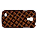 HOUNDSTOOTH2 BLACK MARBLE & RUSTED METAL Galaxy S4 Mini View1