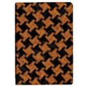 HOUNDSTOOTH2 BLACK MARBLE & RUSTED METAL iPad Mini 2 Flip Cases View1