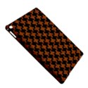 HOUNDSTOOTH2 BLACK MARBLE & RUSTED METAL iPad Air 2 Hardshell Cases View5