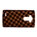 HOUNDSTOOTH2 BLACK MARBLE & RUSTED METAL LG G4 Hardshell Case View1