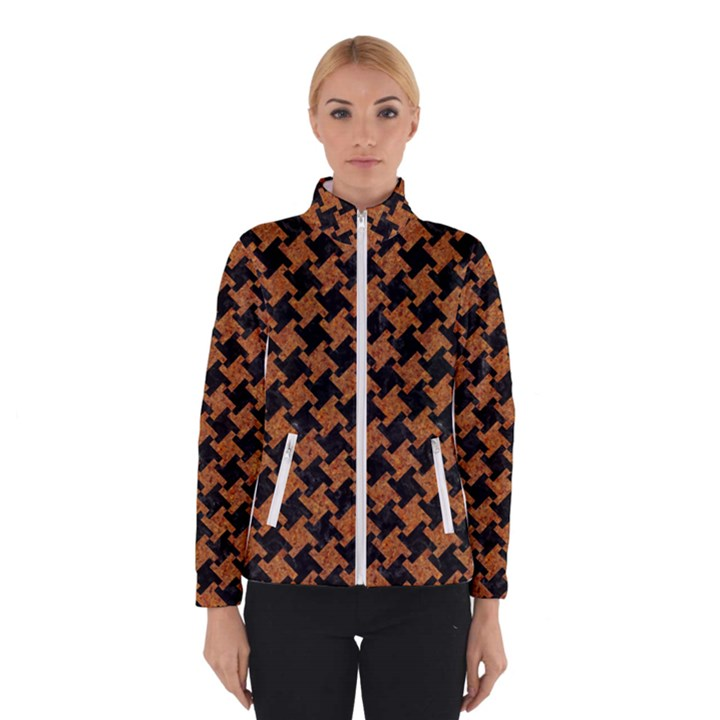 HOUNDSTOOTH2 BLACK MARBLE & RUSTED METAL Winterwear