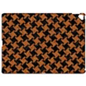 HOUNDSTOOTH2 BLACK MARBLE & RUSTED METAL Apple iPad Pro 12.9   Hardshell Case View1