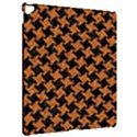 HOUNDSTOOTH2 BLACK MARBLE & RUSTED METAL Apple iPad Pro 12.9   Hardshell Case View2