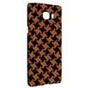 HOUNDSTOOTH2 BLACK MARBLE & RUSTED METAL Samsung C9 Pro Hardshell Case  View3
