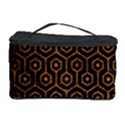 HEXAGON1 BLACK MARBLE & RUSTED METAL (R) Cosmetic Storage Case View1