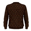 HEXAGON1 BLACK MARBLE & RUSTED METAL (R) Men s Sweatshirt View2