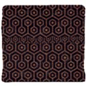 HEXAGON1 BLACK MARBLE & RUSTED METAL (R) Back Support Cushion View4